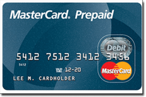 Pre-paid MasterCard for online casino deposits