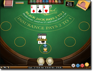 Real Money Online 21 at G'Day Casino