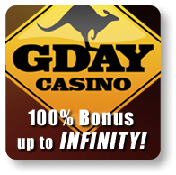 G'day Casino for Smartphones and Tablets