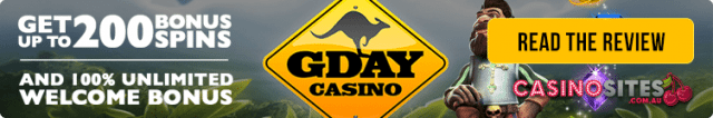 GDayCasino.com accepts Philippines based players