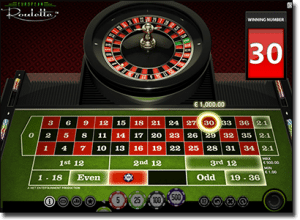 European Roulette online by Net Entertainment