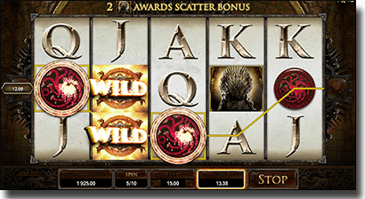 Game of Thrones pokies by Microgaming