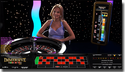 Play Live Dealer Immersive Roulette by Evolution Gaming