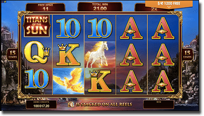 Titans of the Sun Theia online slots