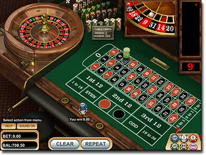 Play European roulette online for real money AUD