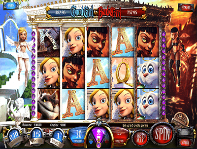 Good Girl Bad Girl 3D online pokies by BetSoft