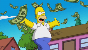 Homer Simpson top six fictional poker players