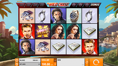 The Wild Chase online pokies by Quickspin