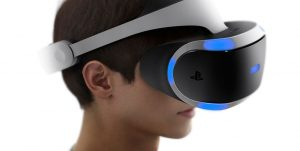 PlayStation VR casino video games device