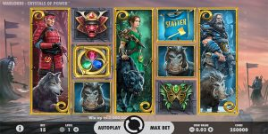 Warlords: Crystals of Power online pokies by NetEnt software