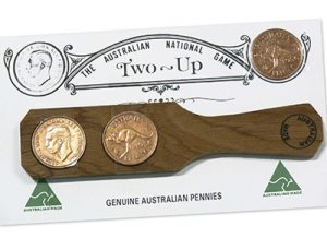 Two Up ANZAC coin game tradition