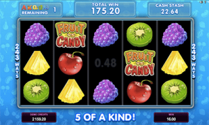 Free spins Fruit vs Candy pokies