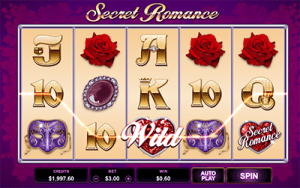 Secret Romance online pokies by Microgaming software