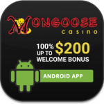 Mongoose Casino Android app